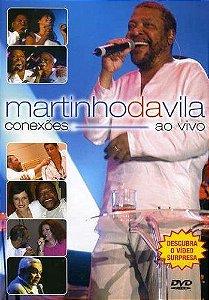 DVD -  MARTINHO DA VILA AO CONEXÕES VIVO