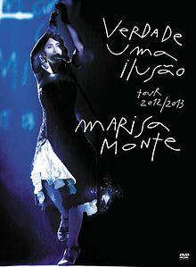 DVD - MARISA MONTE VERDADE UMA ILUSÃO: TOUR 2012 / 2013