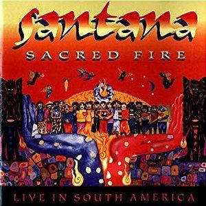 CD - Santana – Sacred Fire: Santana Live In South America