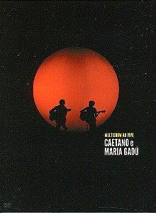 DVD -   CAETANO E MARIA GADU MULTISHOW AO VIVO