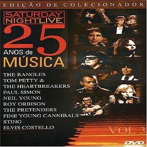 DVD - SATURDAY NIGHT LIVE: 25 ANOS DE MUSICA, VOL. 3