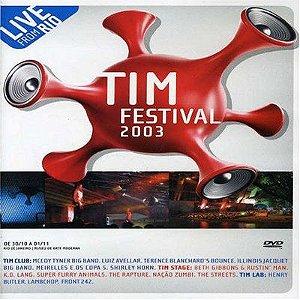 DVD - TIM FESTIVAL 2003