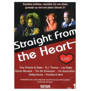 DVD - Straight from the Heart, Volume 1 (Vários Artistas)