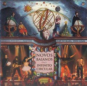 CD - Novos Baiano – Infinito Circular