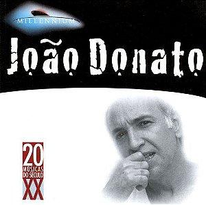 CD - João Donato (Coleção Millennium - 20 Músicas Do Século XX)