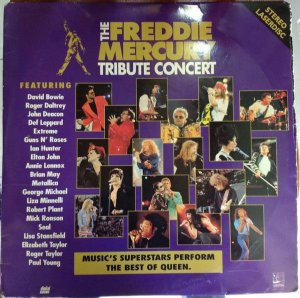 Various ‎– The Freddie Mercury Tribute Concert