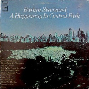 Barbra Streisand ‎– A Happening In Central Park