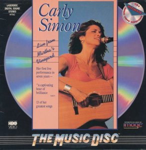 Carly Simon ‎– Live From Martha's Vineyard