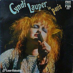 Cyndi Lauper – Cyndi Lauper In Paris