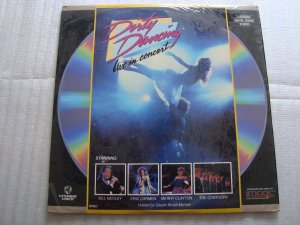 LD - Various ‎– Dirty Dancing - Live In Concert