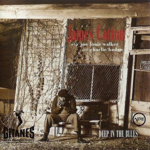 CD - James Cotton With Joe Louis Walker And Charlie Haden – Deep In The Blues - IMP US
