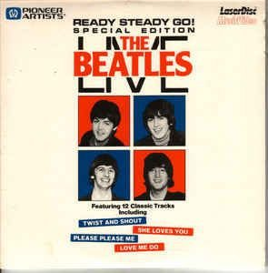 LD - Mini - The Beatles ‎– The Beatles Live - Ready Steady Go! Special Edition