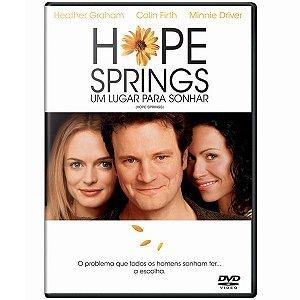 DVD - UM LUGAR PARA SONHAR - Hope Springs