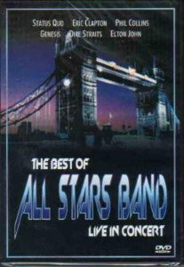 DVD - The Best of All Stars Band - Live in Concert (Vários Artistas)
