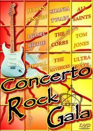 DVD - Various - Concerto Rock Gala