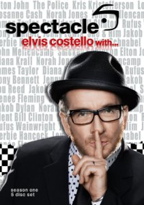 Elvis Costello ‎– Spectacle - Elvis Costello With... (BOX - 4 DVDS)