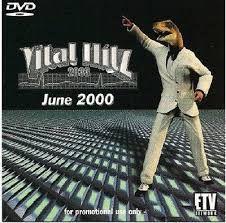 DVD - ETV VITAL HITZ 2033 JUNE 2000 (Vários Artistas)