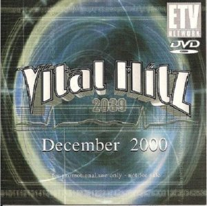 DVD - Etv Vital Hitz 2039 - December 2000 (Vários Artistas)