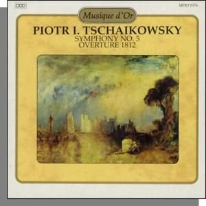 CD - Piotr I. Tschaikowsky Symphony no. 5 Overture 1812