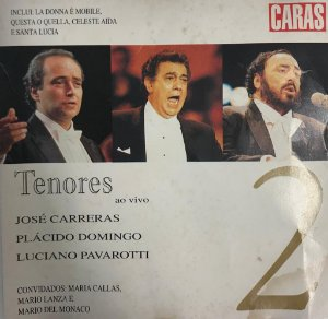 Various - Tenores ao vivo - Volume 2