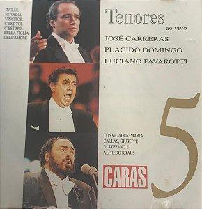 CD - Various - Tenores ao vivo - Volume 5