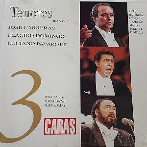 CD - Tenores ao vivo - Volume 3 (Coleção Caras)