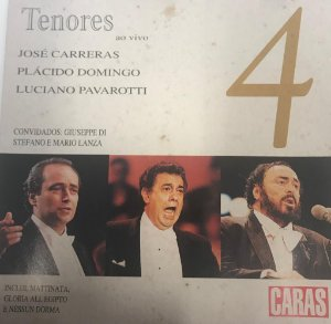 CD - Various - Tenores ao vivo - Volume 4