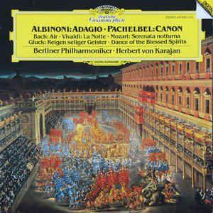 CD - Albinoni • Pachelbel, Berliner Philharmoniker • Herbert Von Karajan – Albinoni: Adagio • Pachelbel: Canon