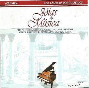 CD - VARIOUS - JÓIAS DA MÚSICA - VOLUME 6