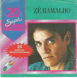 CD - Zé Ramalho - 20 Super Sucessos