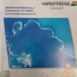 CD - Beethoven Symphony No.9 in D minor Op. 125 ' Choral'