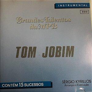 CD - Tom Jobim - Instrumental (Coleção Grandes Talentos da MPB) - Vários Artistas