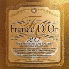 CD - Various - France D'or - 20 Sucessos de Ouro da Música Francesa