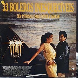 CD - 33 Boleros Inesquecíveis Sem Intervalo Para Ouvir E Dançar (Vários Artistas)