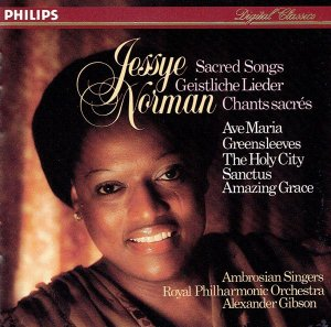 Jessye Norman / The Ambrosian Singers / Royal Philharmonic Orchestra* / Alexander Gibson ‎– Sacred Songs
