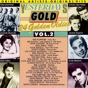 CD - Various - Yesterdays Gold Vol.2 - 24 Golden Oldies - IMP