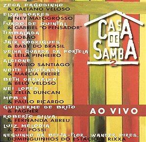 CD - Casa De Samba 2 (Vários Artistas)