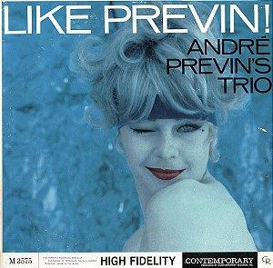 CD - André Previn's Trio – Like Previn! - IMP