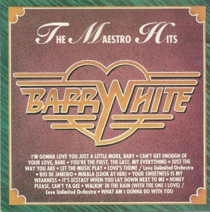 CD - Barry White ‎– The Maestro Hits