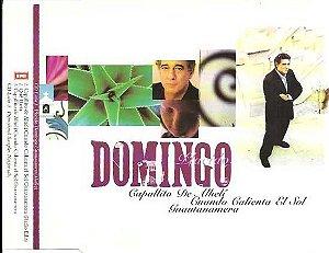CD - Plácido Domingo - Capullito de Alhelí - Cuando Calienta e Sol - Guantanamera ( cd single) - IMP