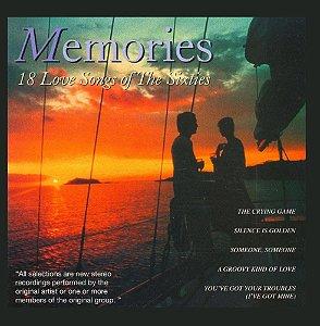 CD - Memories - 18 Love Songs of the Sixties - IMP