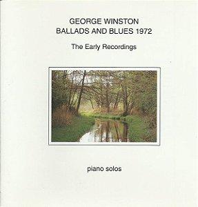 CD - George Winston – Ballads And Blues 1972 - IMP
