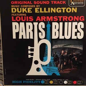Duke Ellington Featuring Louis Armstrong ‎– Paris Blues