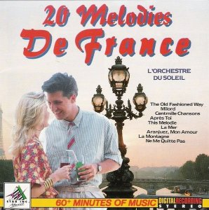 CD - Various - L'Orchestre Du Soleil – 20 Melodies De France
