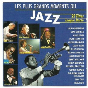 CD - Various ‎– Les Plus Grands Moments Du Jazz