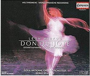 Léon Minkus, Sofia National Opera Orchestra, Boris Spassov – Don Quijote (Gesamtaufnahme = Complete Recording)