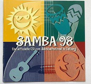 CD - Various - Samba 98 - Die Offizielle CD zum Sambafestival - IMP