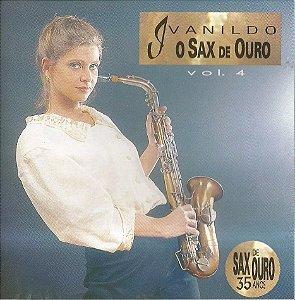 CD - Ivanildo – O Sax De Ouro - Vol.4