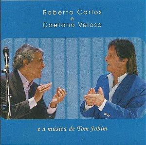 Roberto Carlos E Caetano Veloso – E A Música De Tom Jobim   (Digipack)