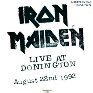 CD = Iron Maiden ‎– Live At Donington - August 22nd 1992 ( Cd Duplo)